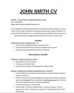 resume template for teaching jobs
