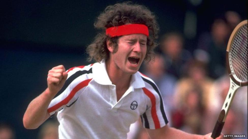 "John McEnroe ""You cannot be serious!"""