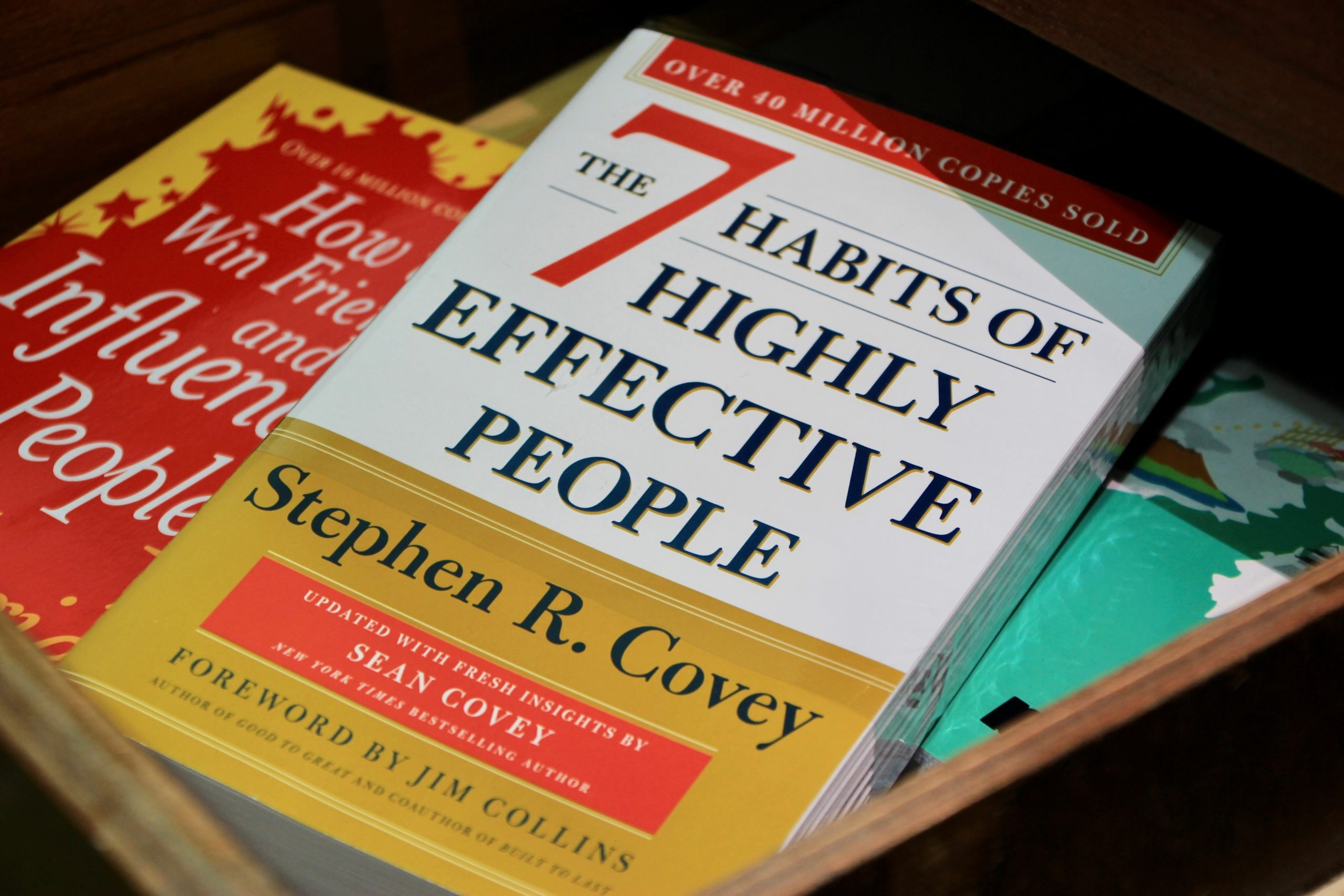 Image of The 7 Habits of Highly Effective People by Stephen Covey. Leadership and Entrepreneurship